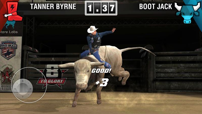 Three Gates AB förvärvar rättigheterna till Professional Bull Riders officiella spel 8 to Glory för konsol och mobil