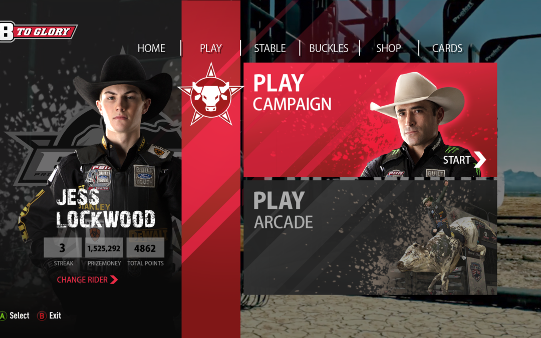 Three Gates utvecklar Professional Bull Riders spel 8 to Glory – Bull Riding för PlayStation och Xbox