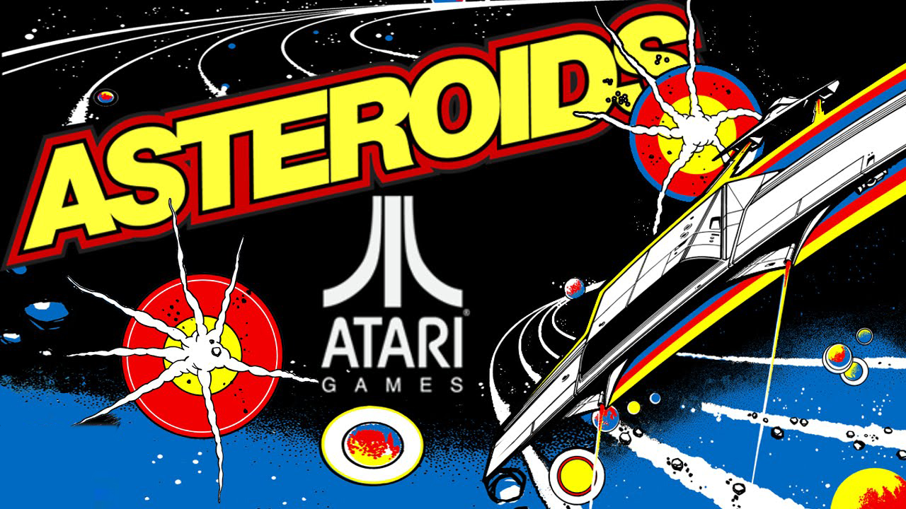 atari asteroids for pr