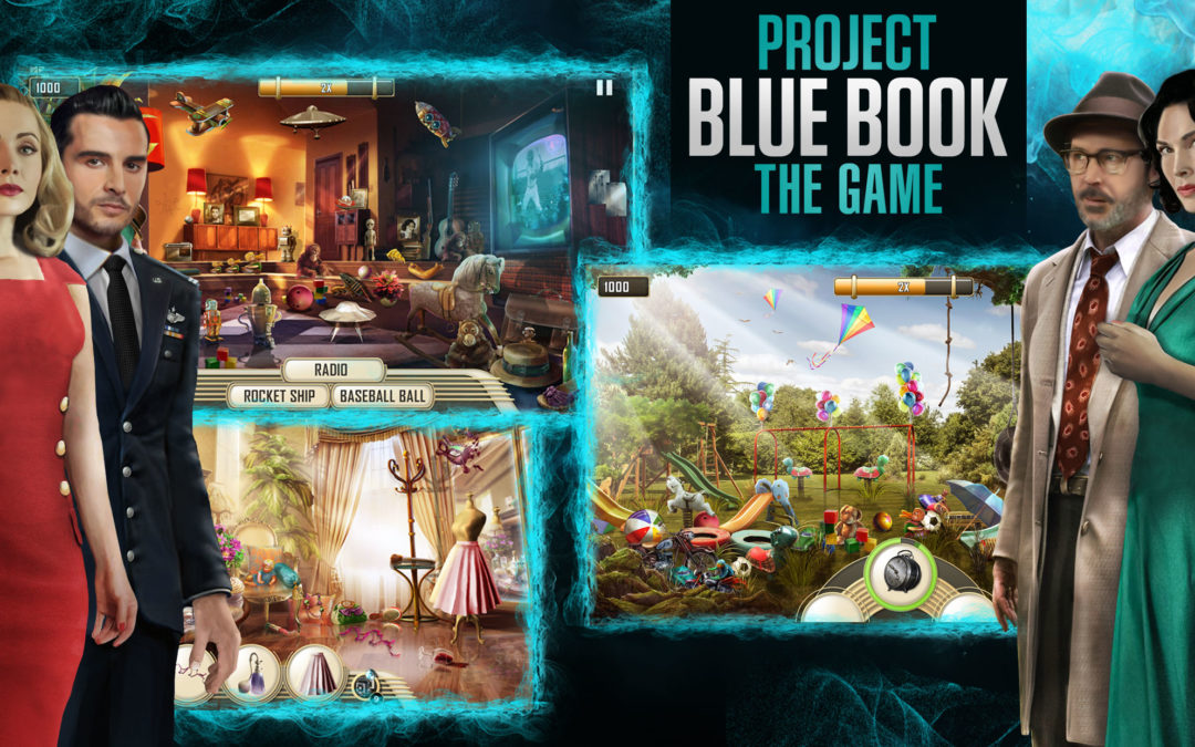 Positiva resultat i PlaytestCloud för Project Blue Book: The Game