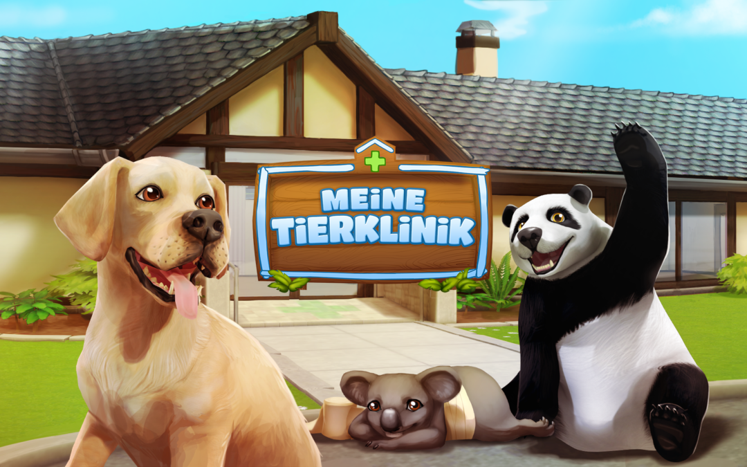 Tivola och Three Gates meddelar att Pet World: My Animal Hospital nu finns tillgängligt på Apple Store under namnet Cute Animal Care Game