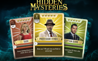 Project Blue Book: Hidden Mysteries, Card System.