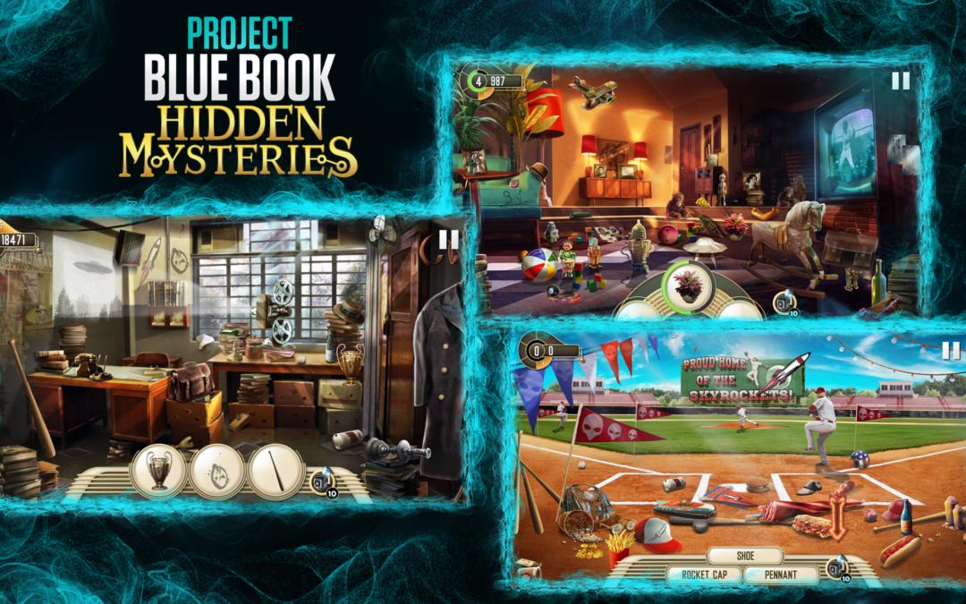 Project Blue Book: Hidden Mysteries, Hidden Object Modes