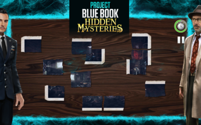 Project Blue Book: Hidden Mysteries, Jigsaw Puzzle