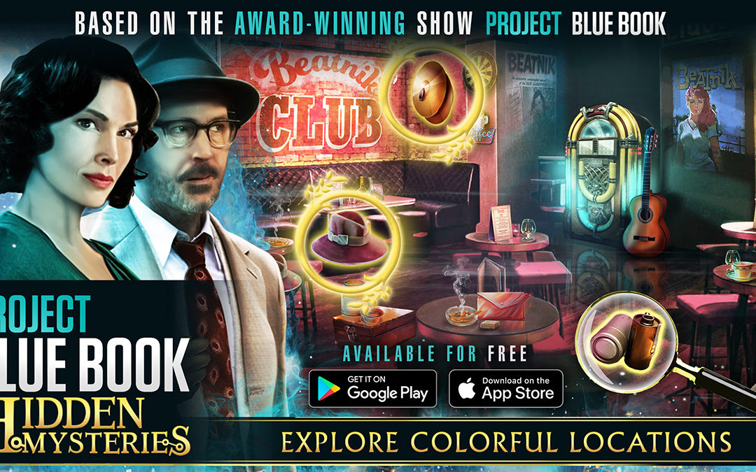 Project Blue Book: Hidden Mysteries lanseras globalt 20 augusti